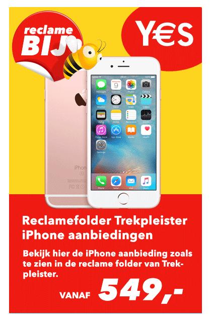 reclamefolder trekpleister aanbiedingen iphone 7