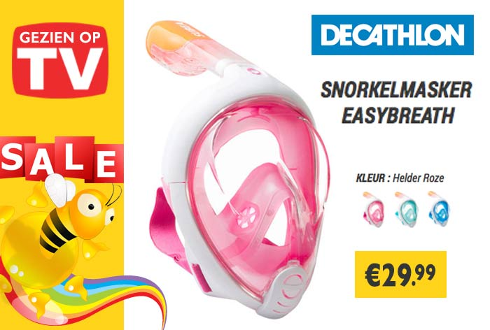 Folder Aanbieding Snorkelmasker Easybreath Decathlon