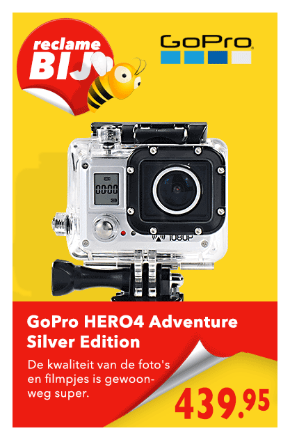 Folder Actie GoPro HERO 4 GoPro HERO 4 Silver Adventure Edition
