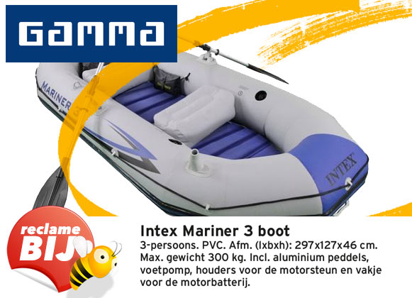 Gamma Folder Aanbieding Opblaasbare Boot