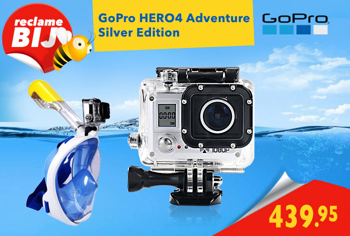 Reclame Folder Aanbiedingen GoPro-HERO-4-Silver-Adventure-Edition