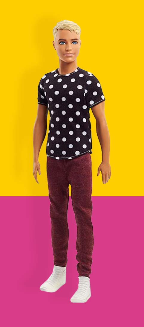 Ken Poppen Ken Pop Nummer 1 Ken® Fashionistas®