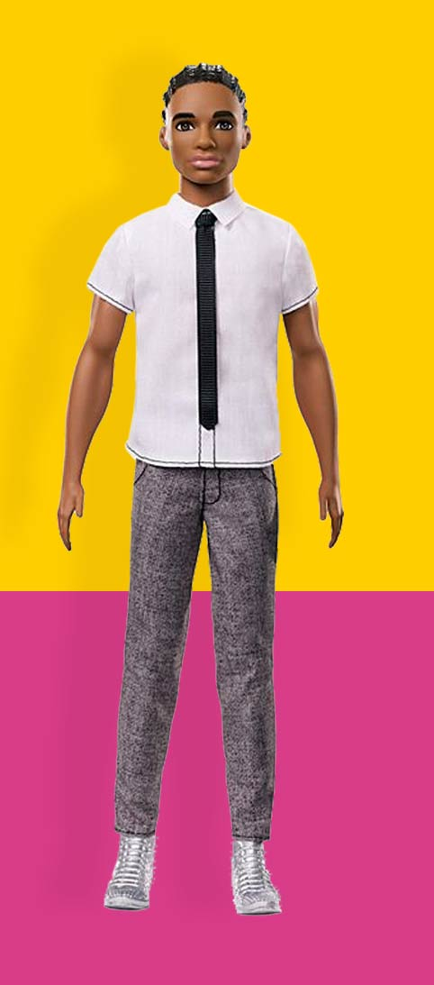 Ken Poppen Ken Pop Nummer 10 Ken® Fashionistas®