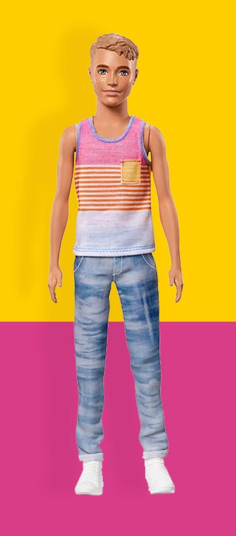 Ken Poppen Ken Pop Nummer 11 Ken® Fashionistas®