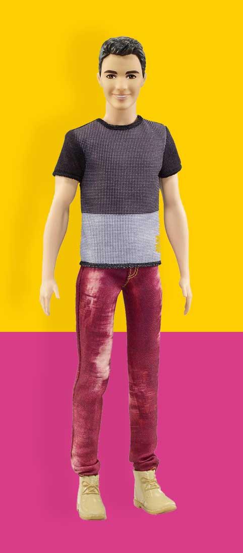 Ken Poppen Ken Pop Nummer 6 Ken® Fashionistas®