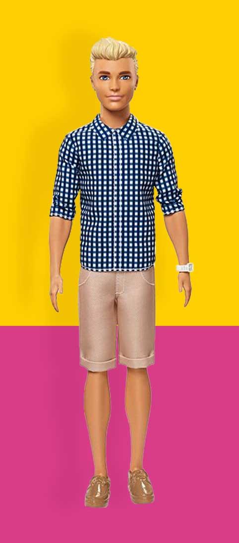 Ken Poppen Ken Pop Nummer 7 Ken® Fashionistas®