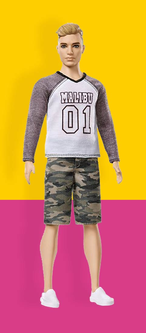 Ken Poppen Ken Pop Nummer 8 Ken® Fashionistas®