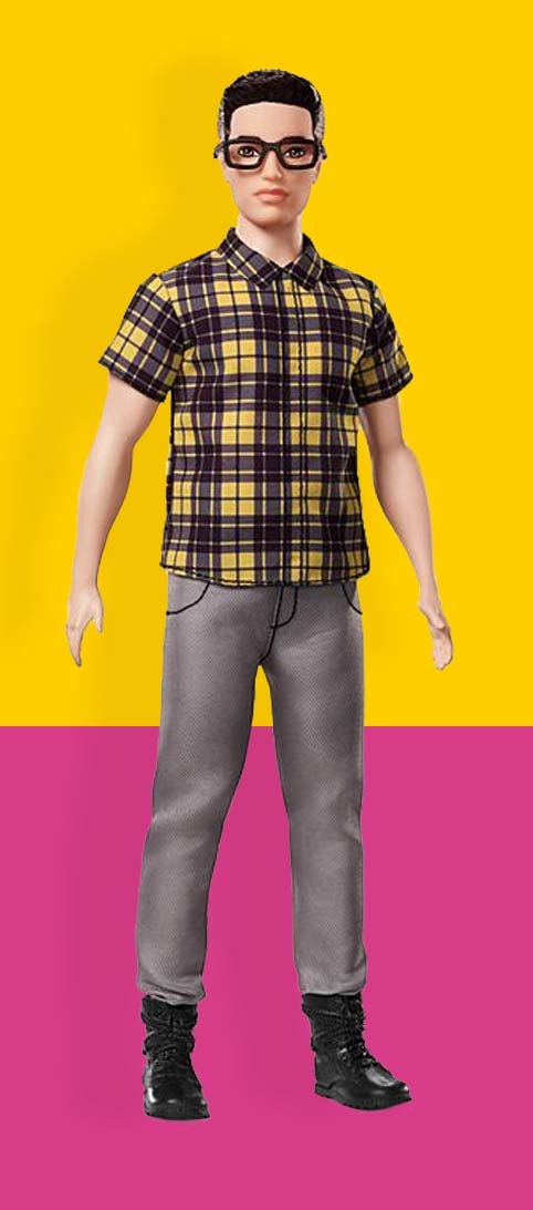 Ken Poppen Ken Pop Nummer 12 Ken® Fashionistas®