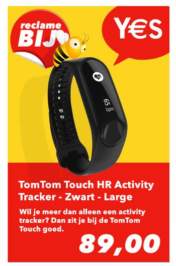 Reclame Folder Aanbieding-TomTom Touch